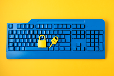 cyber-data-and-information-security-idea-yellow-pa-HU7Z5E6